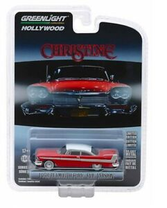 Greenlight-034-Christine-034-1958-Plymouth-Fury-Evil-Version-1-64-Diecast-Car-44840B