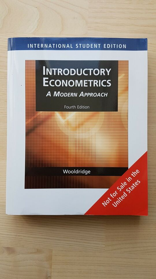 Introductory Econometric A Modern Approach, Wooldridge,