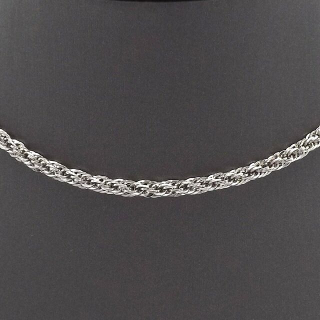 Jewelry Necklaces Chains Leslies 10K White Gold .8 mm Box Chain