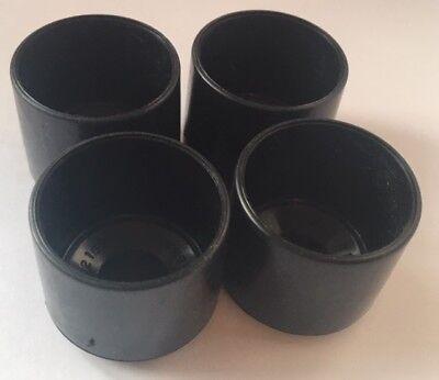 "Protect Plastic stool ferrule cap 28.6mm 1/"" 1//8/""  Box Section 4 pack"