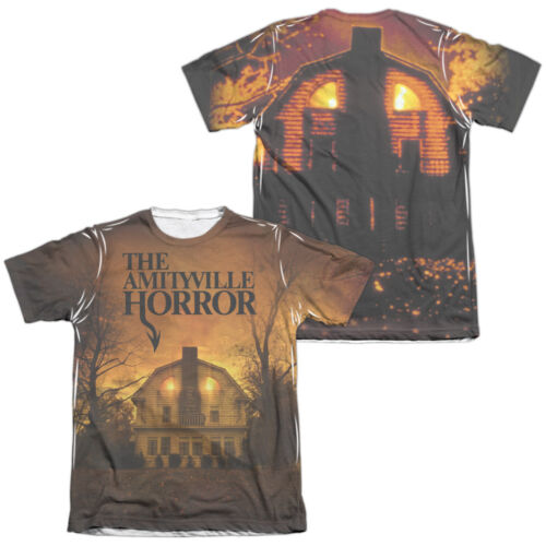 Amityville Horror Movie HOUSE 2-Sided All Over Print Poly Cotton T-Shirt