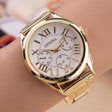 Moda Hombre Mujer Relojes De Pulsera Reloj Correa Acero inoxidable