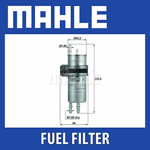 Mahle-Fuel-Filter-KLH42-Fits-BMW-730i-Genuine-Part