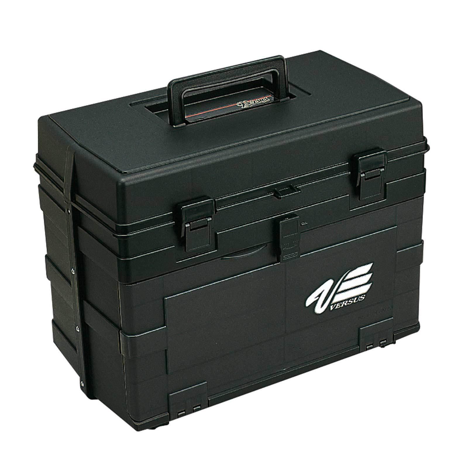 MEIHO  Angel VALIGIA PESCA BOX vs8010 NERO 42x24,5x32,6cm  sconto online di vendita