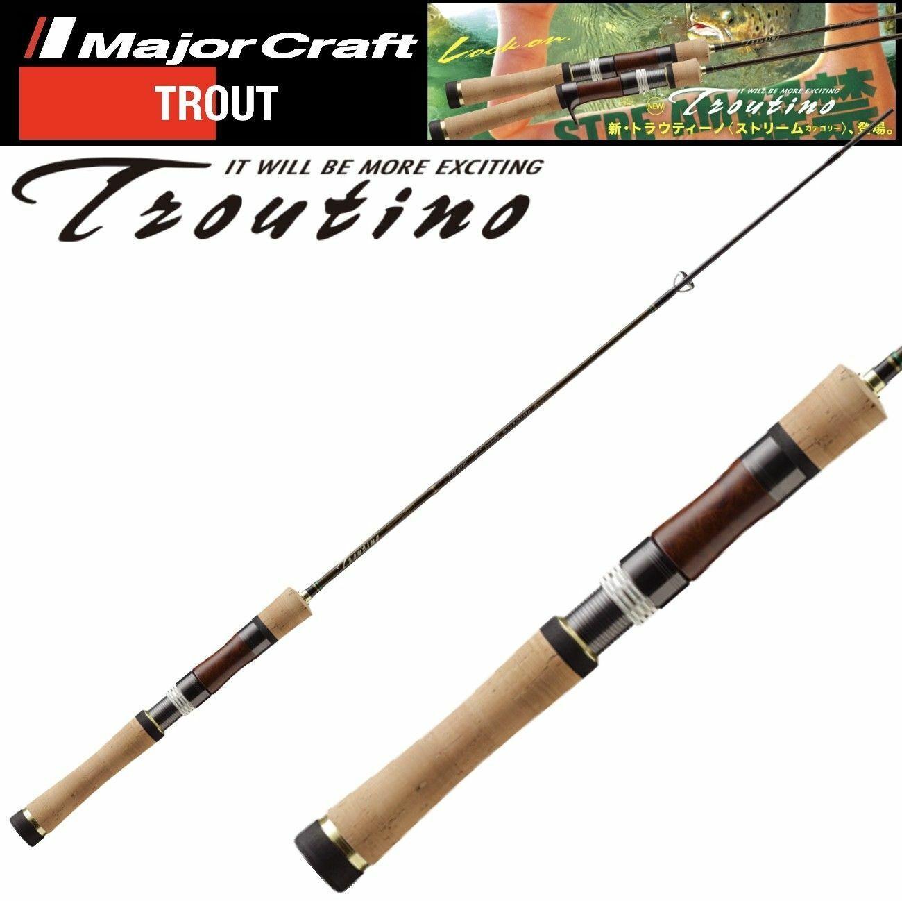 Major Craft pesca alla trossoa Spinning Rod modello troutino