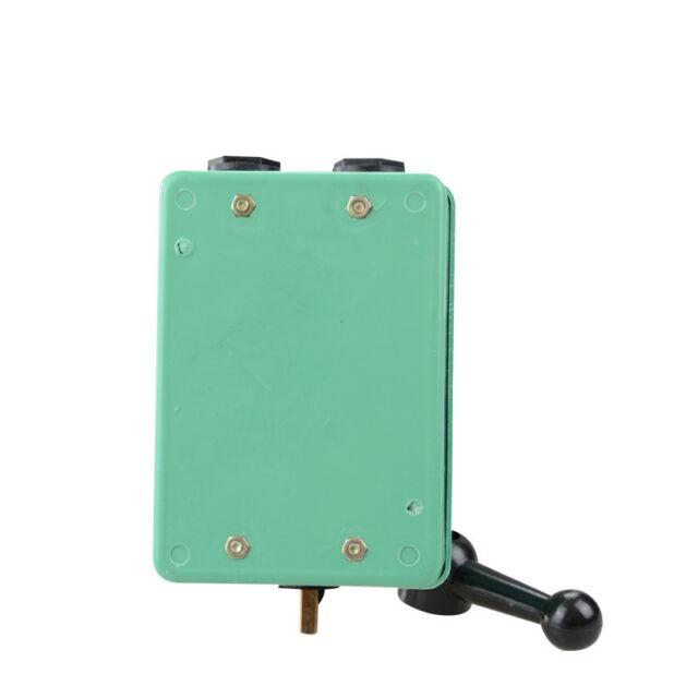 2pcs Cam Starter Switch 60a 380vac Forward Stop Reverse