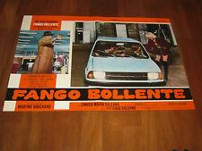FOTOBUSTA, 1975,FANGO BOLLENTE JOE D'ALLESANDRO SALERNO MINI INNOCENTI AUTO CAR