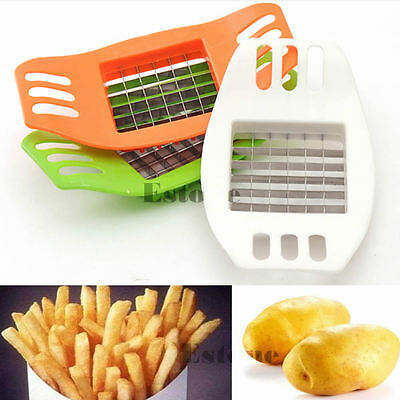 French Fries Potatoes Cutter Cut into Strips Kitchen Tools Gadgets Color Random