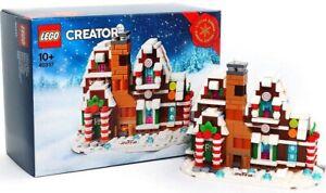 NEW-LEGO-Creator-40337-Limited-Edition-Seasonal-Exclusive-Mini-Gingerbread-House