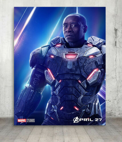 Avengers Marvel Infinity War Poster Print Wall Art Characters A3 A2 Movie Films