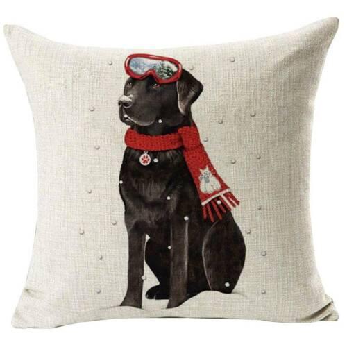 18x18/'/' Christmas Xmas Cushion Cover Pillow Case Sofa Bed Car Decor Snowflake