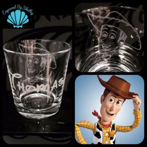 Potato Head Wine Glass Hand Engraved Gift! Personalised Disney Toy Story Mr