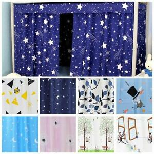 Dormitory-Bunk-Single-Bed-Tent-Curtain-Cloth-Cover-Dustproof-Student-School-DQ