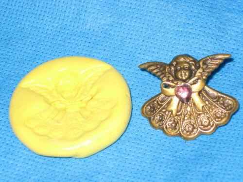 Cherub Angel Chocolate Fondant Push Mold Candy Food Safe Silicone #196 Cake