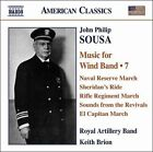 John Philip Sousa: Music for Wind Band, Vol. 7 (CD, Dec-2008, Naxos (Distributor))
