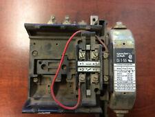CRV 6-30 Suppresser Schuh CA6-140-EI Contactor w//CA6-P Contact Block Sprecher
