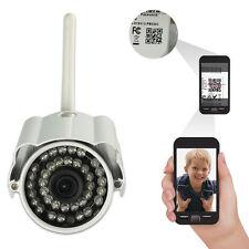 60° Wireless WIFI HD 720P IP Camera Outdoor Security Waterproof Night Vision US