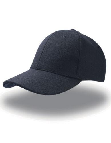 Atlantis Herrren Cap Kappe Mütze Wolle Baseball Baseballcap Sport Neu CLUB