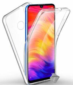 Housse-etui-coque-gel-360-integrale-Xiaomi-Redmi-Note-7-film-ecran-TRANSPARE