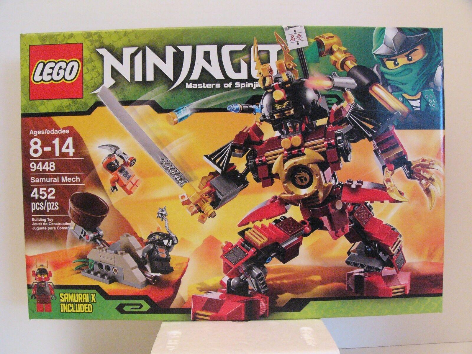 LEGO Ninjago 9448 Samurai Mech, Nuovo and Factory Sealed
