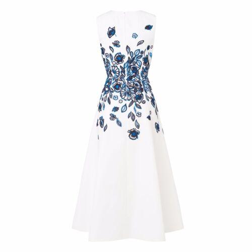 bennett jurk blauw L Corin geborduurde k 8Ok0XnwP