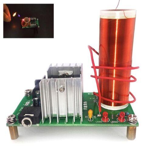 Electronic Tesla Coil Module Kit DIY Plasma Speaker Music Loudspeaker Board Mini