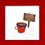 Drôle de Carte de noël-bonhomme de neige Blague-Amusant Humour Humour-Santa Claus Snow