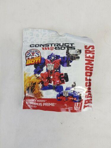 Optimus Prime Transformers 4 DINOBOT Riders Construct-Bots Action Figure