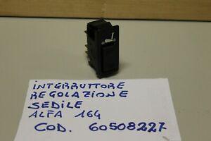 ALFA 164 INTERRUTTORE REGOLAZIONE SEDILE 60508227