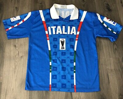 on sale 91949 81871 Vintage 1998 France World Cup Italia Jersey S / M 1994 Official Soccer  Football | eBay