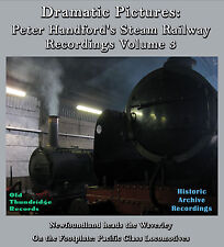 Peter Handford's Steam Railway Recordings 3 Waverley Footplate Pacifics A4/A3 CD