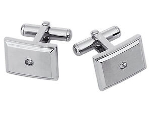 STEL Stainless Steel Diamond Tie Bar
