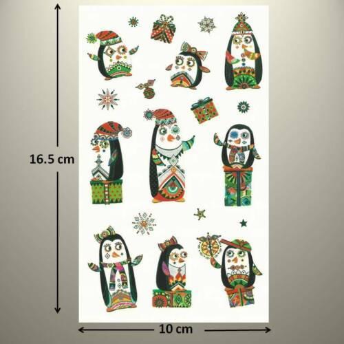 up to 20/% OFF! TURNOWSKY FESTIVE CHRISTMAS PENGUINS Mrs Grossman/'s Sticker