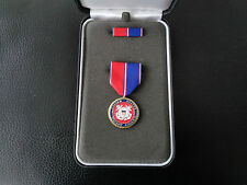 (Schr) US Commemorative Medal for Americans original Orden im Etui Coast Guard