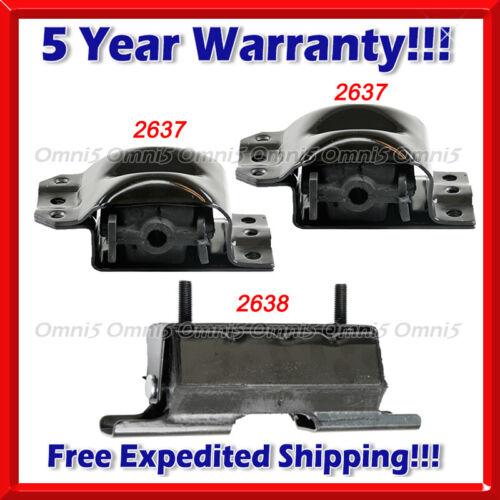 M382 For 92-99 Chevy//GMC K2500 Suburban 5.7L 6.5L 7.4L 4WD Motor /& Trans Mount
