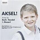 Aksel!: Arias by Bach, Handel & Mozart (2016)