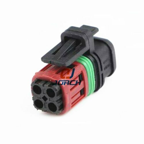 tyco 4pin housing electrical plug auto waterproof wire harness cable 1337352-1