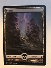 full Art X4 M//NM Magic: The Gathering MTG Battle For Zendikar Swamp 263
