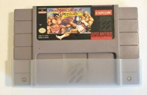 Street-Fighter-II-Turbo-Super-Nintendo-1993-Game-Cartridge-Only-Tested