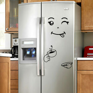 Details About Cute Kitchen Dining Fridge Sticker Refrigerator Decal Home Decor Wallpaper