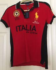 BNWT RARE Polo Ralph Lauren Italia da Corsa 2011 Racing Shirt Size M