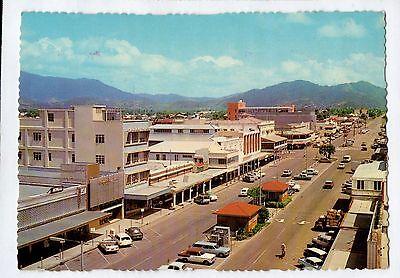 B9906cgt Australia Q Cairns Lake Street MV vintage postcard