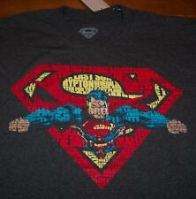 AWESOME SUPERMAN Dc Comics T-Shirt LARGE NEW w/ tag