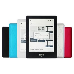 Details about Kobo Glo N613 eBook Reader E-ink 6 inch 1024x768 2GB With  Touch screen Backlight