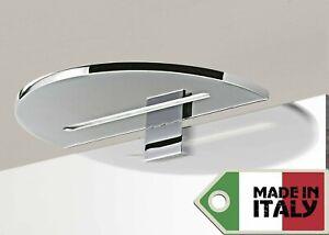 Lampada applique a led design moderno specchio bagno muro stile luce