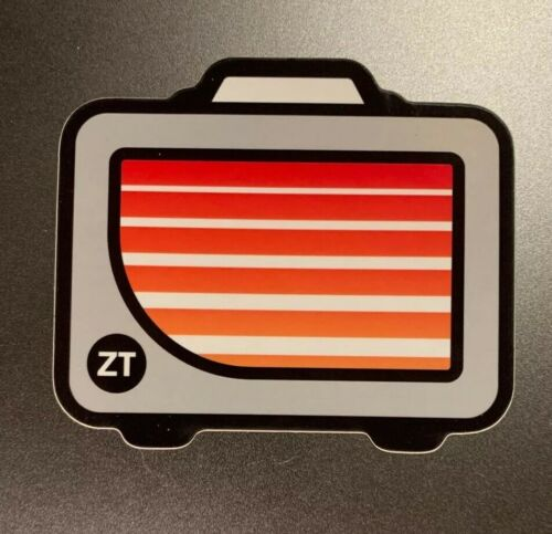 Decal ZT Amplifiers Sticker