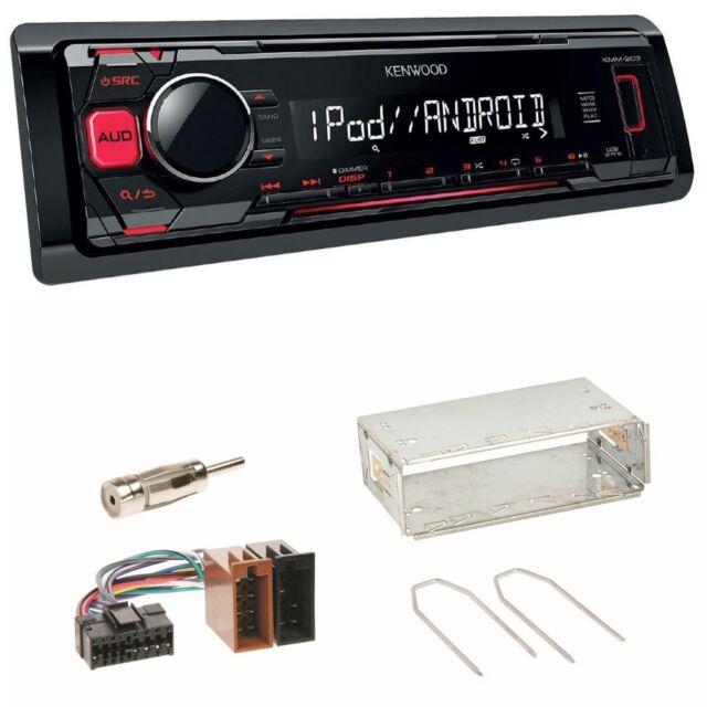 KMM-203 Autoradio USB FLAC MP3 WMA AOA Einbauset für Renault Clio Twingo 1 2