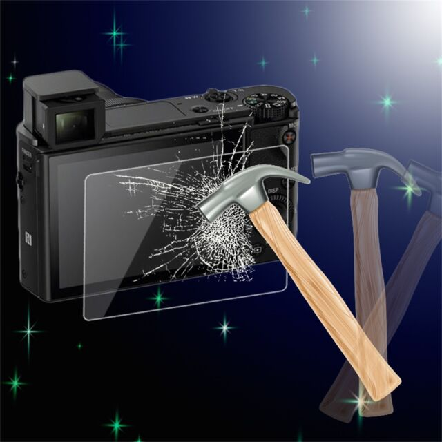 Tempered Glass Screen Protector Cover for Sony RX-100/RX-100-2/RX-100-3/A99 pV