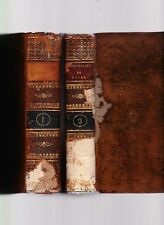Dictionnaire Anglais-Francais, et Francais-Anglais, Abrege de Boyer 1821 leather