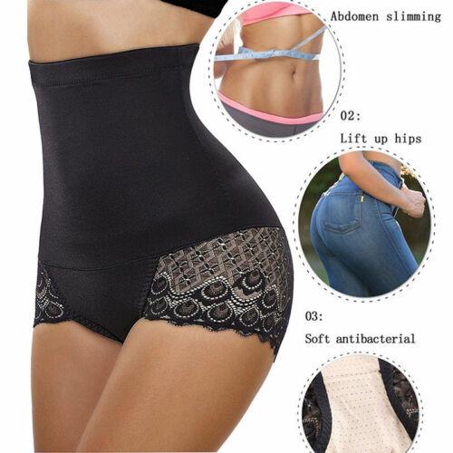 High Waist Slim Body Shaper Tummy Control Panties Butt Lifter Sculpting Knickers